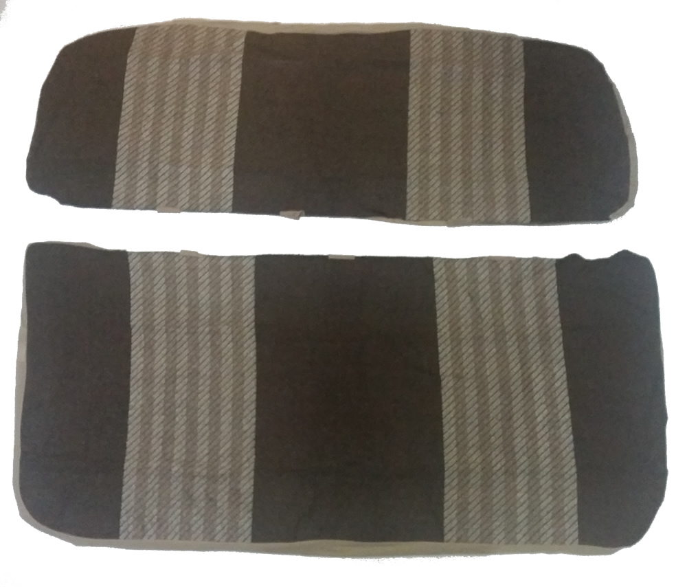 Car Bench Seat Cover Universal Front Rear Brazil Brown New