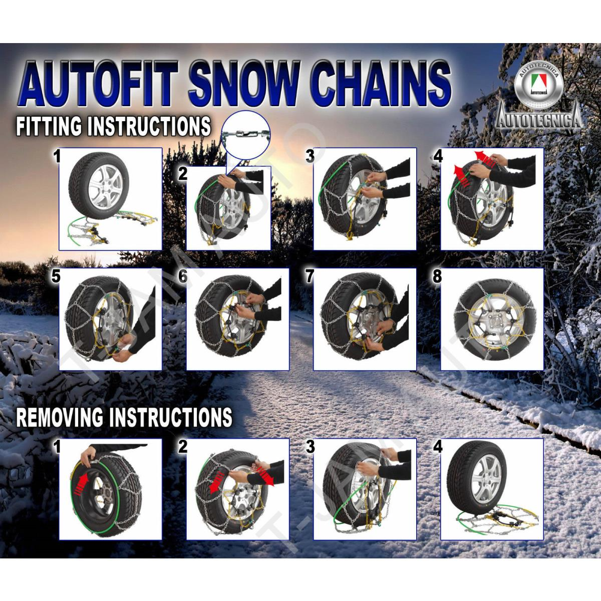20 inch snow chains
